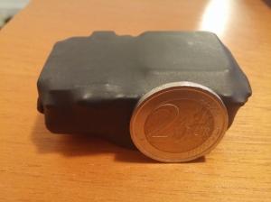 antenne gps e gsm sono entrocontenute come la batteria e il sensore di movimento